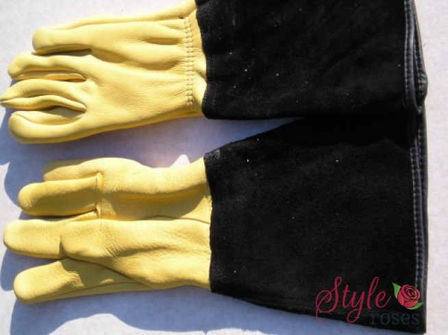 'Gold Leaf' Gents Gauntlet Gloves